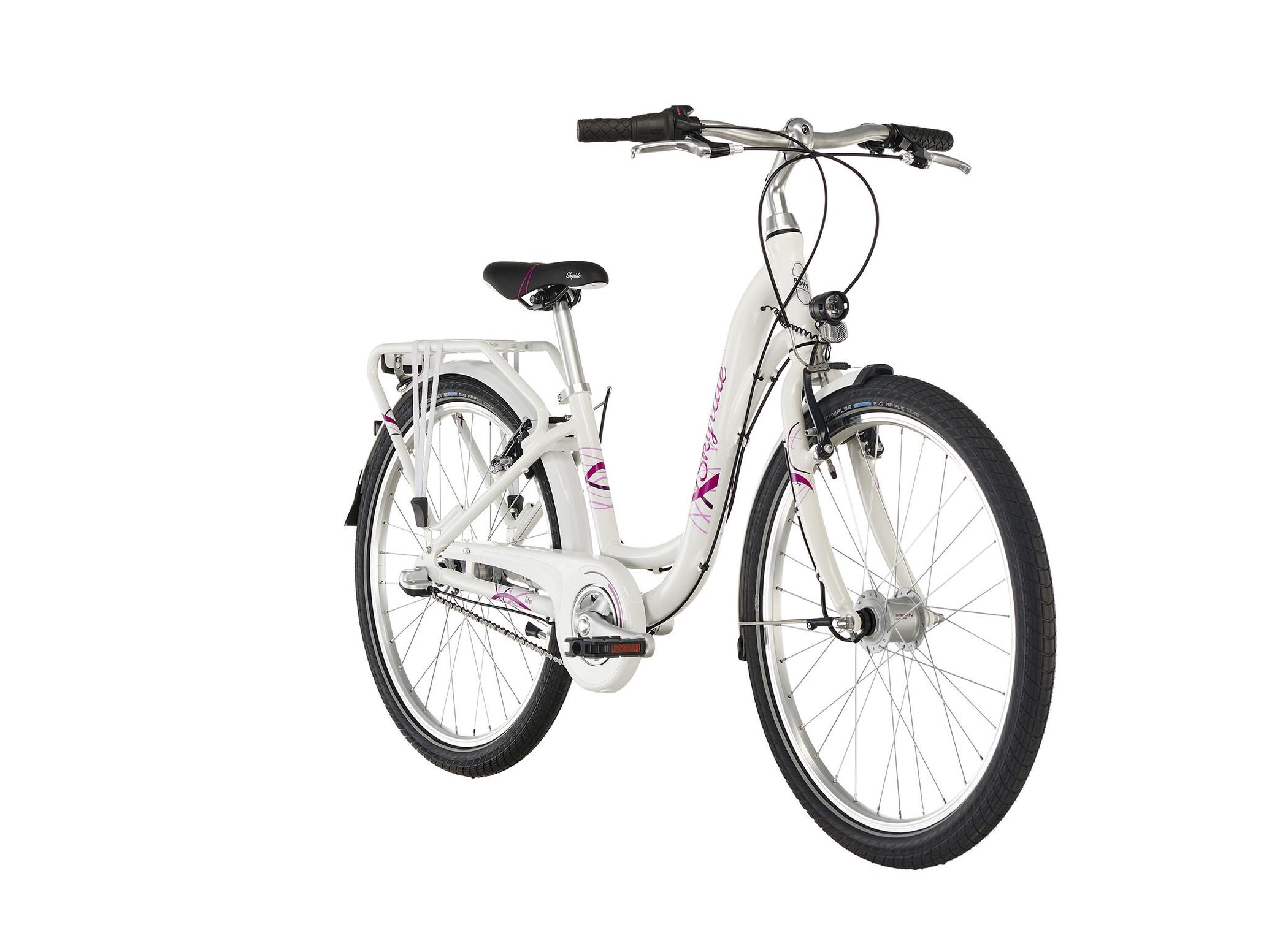 Skyride 24 8 Alu Light Fahrrad 24 · weiß · Kinder » PUKY