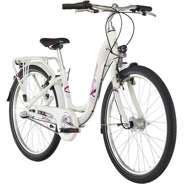 """Puky Skyride Light 24"""" Fahrrad 3-Gang Mädchen weiß"""