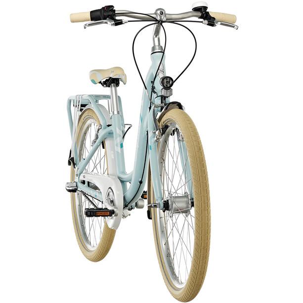 "Puky Skyride Light Classic 24"" Fahrrad 3-Gang Mädchen himmelblau"