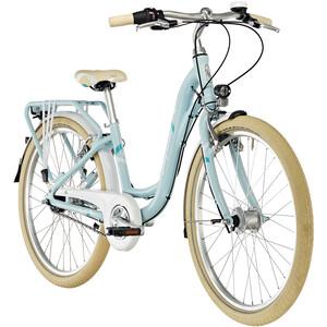 """Puky Skyride Light Classic 24"""" Cykel 7-växlad Flickor blå blå"""