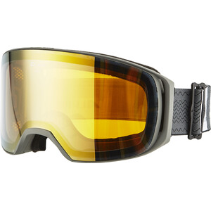 Alpina Arris Multimirror S3 Goggles gold/grau gold/grau