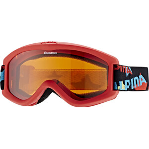 Alpina Carvy 2.0 Gafas Niños, rojo/Multicolor rojo/Multicolor