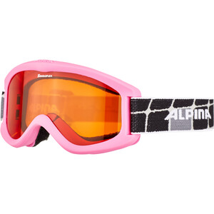 Alpina Carvy 2.0 Goggles Kinder pink/schwarz pink/schwarz