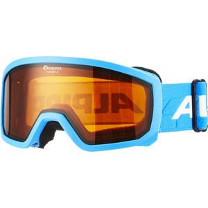 Alpina Scarabeo Doubleflex S2 Lunettes de protection Enfant, turquoise turquoise