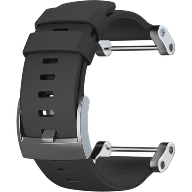Suunto Core Flaches Silikon Armband black