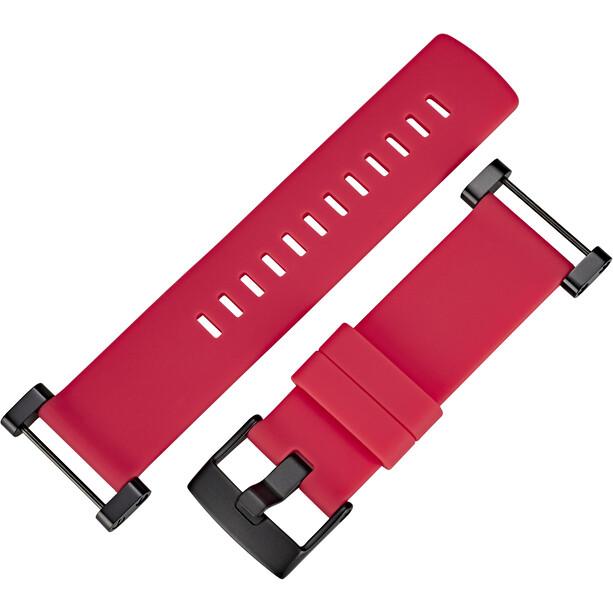 Suunto Core Flaches Silikon Armband crush red