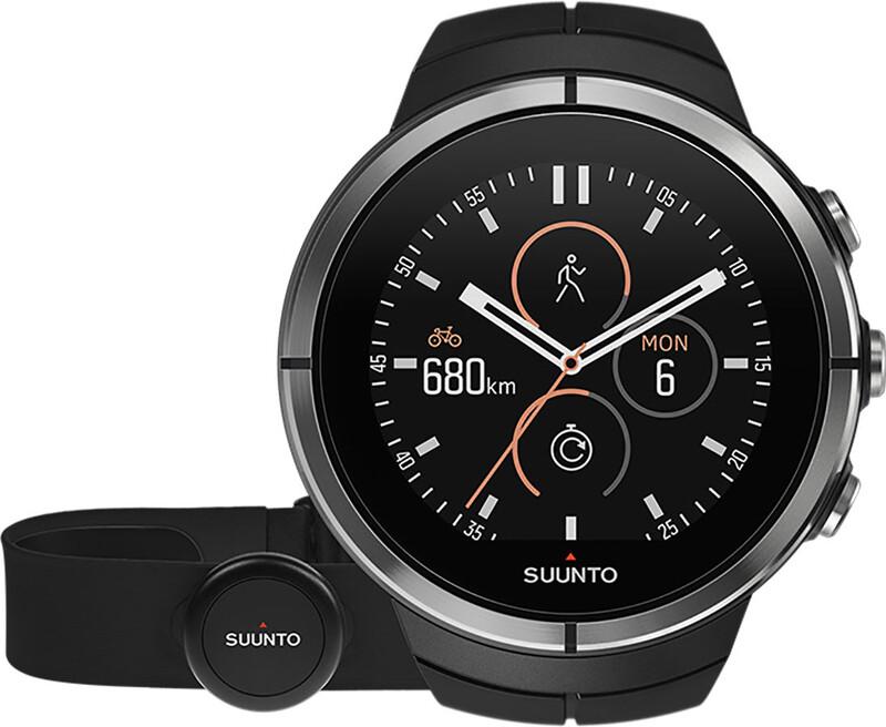 Suunto Spartan Ultra HR GPS Outdoor Watch Stealth Titanium  2018 Triathlon Zubeh
