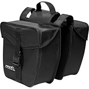 Red Cycling Products Double Urban Bag Gepäckträgertasche schwarz schwarz
