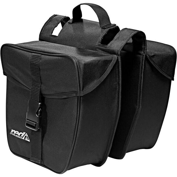Red Cycling Products Double Urban Bag Gepäckträgertasche schwarz