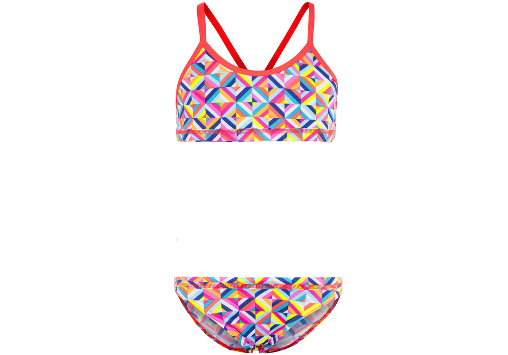 Funkita Racerback Two Piece Bikini Girls Flash Bomb online ...