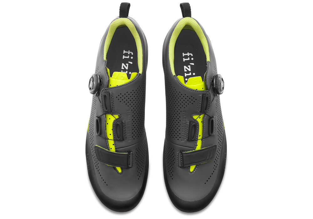 fizik terra x5 mtb schuhe herren grau gelb fluo online. Black Bedroom Furniture Sets. Home Design Ideas