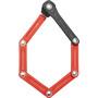 ABUS Bordo Lite Mini 6055/60 Movistar Folding Lock red