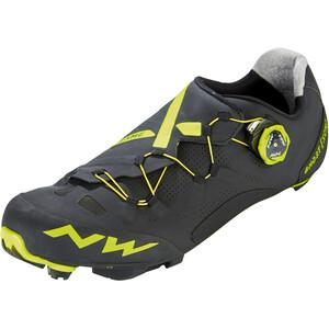 Northwave Ghost XCM Schuhe Herren black/yellow fluo black/yellow fluo