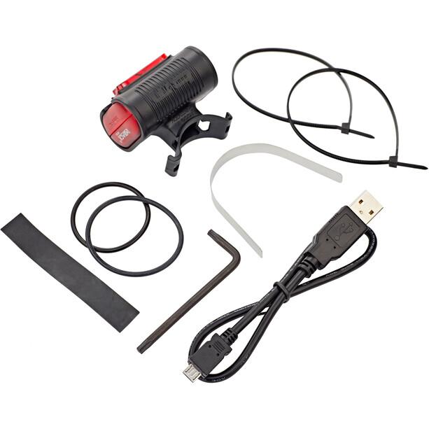 Busch + Müller IXBACK Senso USB Rücklicht schwarz