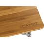 CAMPZ Bambu Taittopöytä 100x65x65cm, brown