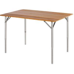 CAMPZ Bambu Taittopöytä 100x65x65cm, brown brown
