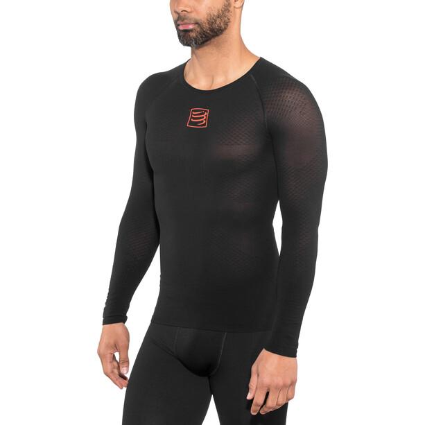 Compressport 3D Thermo UltraLight Langarmshirt black