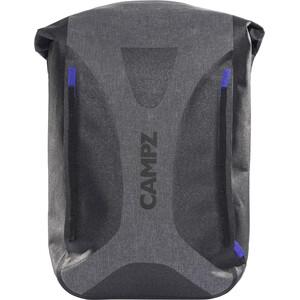 CAMPZ WP Dry Bag Selkäreppu, harmaa/musta harmaa/musta