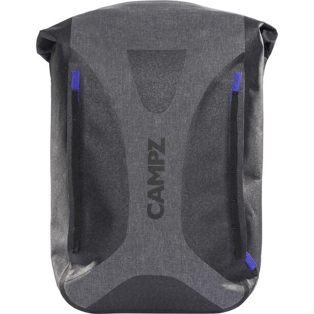 CAMPZ WP Dry Bag Rucksack grau/schwarz