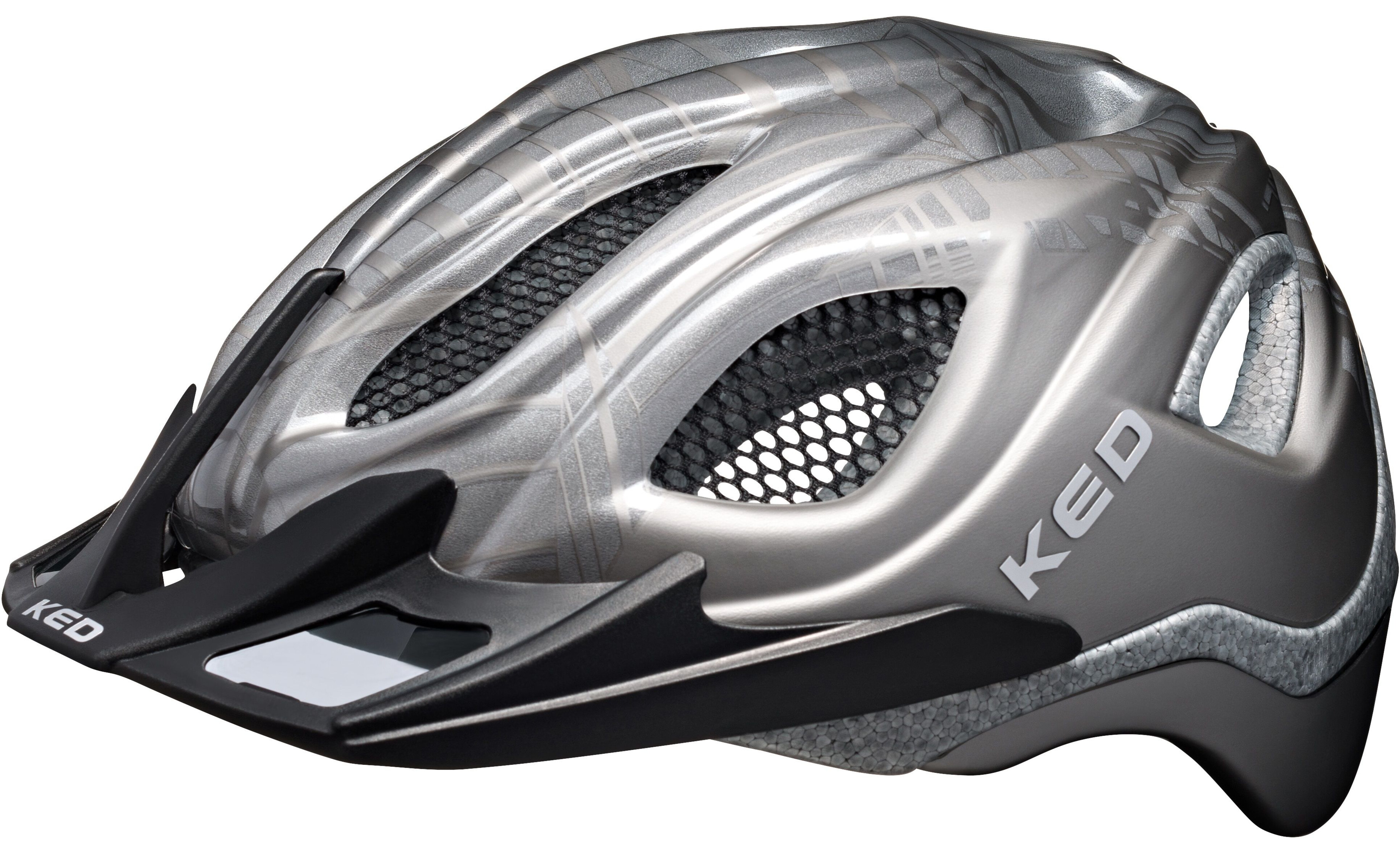 ked certus k star casco per bici grigio argento su. Black Bedroom Furniture Sets. Home Design Ideas