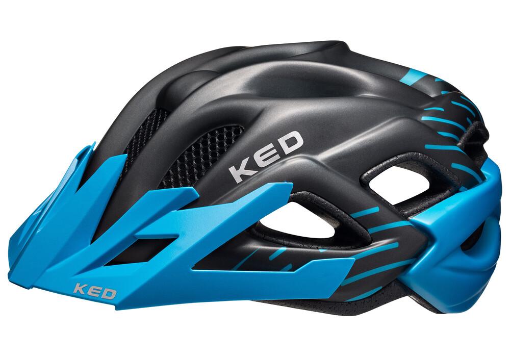 ked status helmet junior blue black matt online bestellen. Black Bedroom Furniture Sets. Home Design Ideas