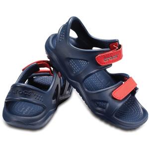 Crocs Swiftwater River Sandalen Kinder blau blau