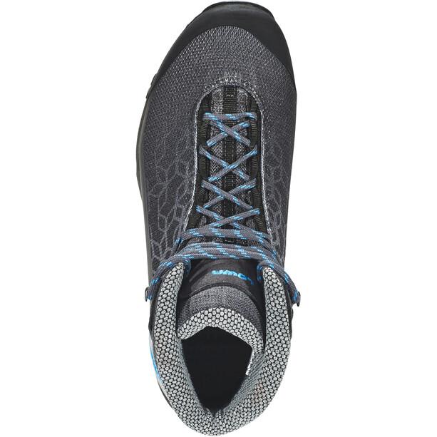 Lowa Lyxa GTX Mid-Cut Schuhe Damen anthracite/blue