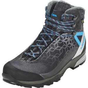 Lowa Lyxa GTX Mid-Cut Schuhe Damen anthracite/blue anthracite/blue