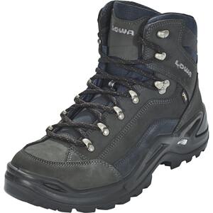 Lowa Renegade GTX Mid-Cut Schuhe Herren dark grey/navy dark grey/navy