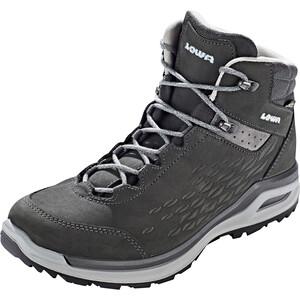 Lowa Locarno GTX QC Zapatillas Mujer, negro/gris negro/gris