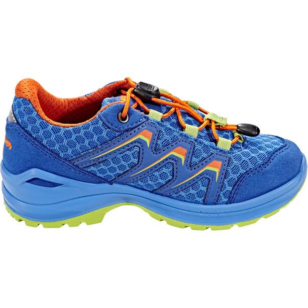 Lowa Maddox Low-Cut Schuhe Kinder royal/orange