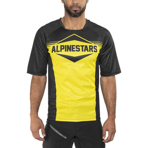 Alpinestars Mesa Kurzarm Trikot Herren black yellow black yellow