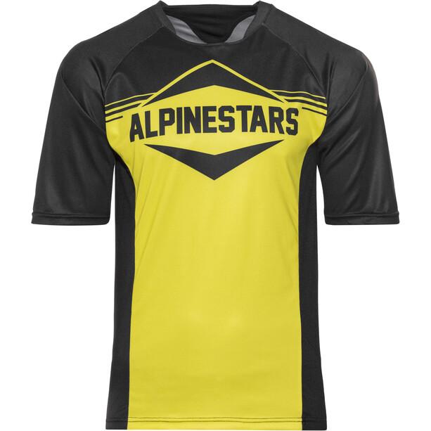 Alpinestars Mesa Kurzarm Trikot Herren black yellow