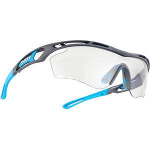 Rudy Project Tralyx Lunettes, gris/turquoise gris/turquoise