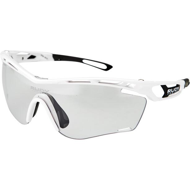Rudy Project Tralyx Slim Lunettes, white gloss - impactx photochromic 2 black