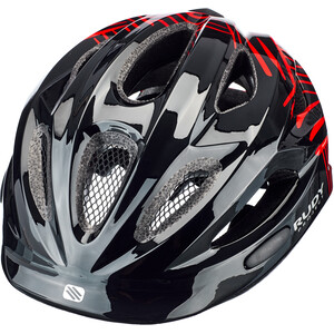 Rudy Project Rocky Casque Enfant, black-red shiny black-red shiny