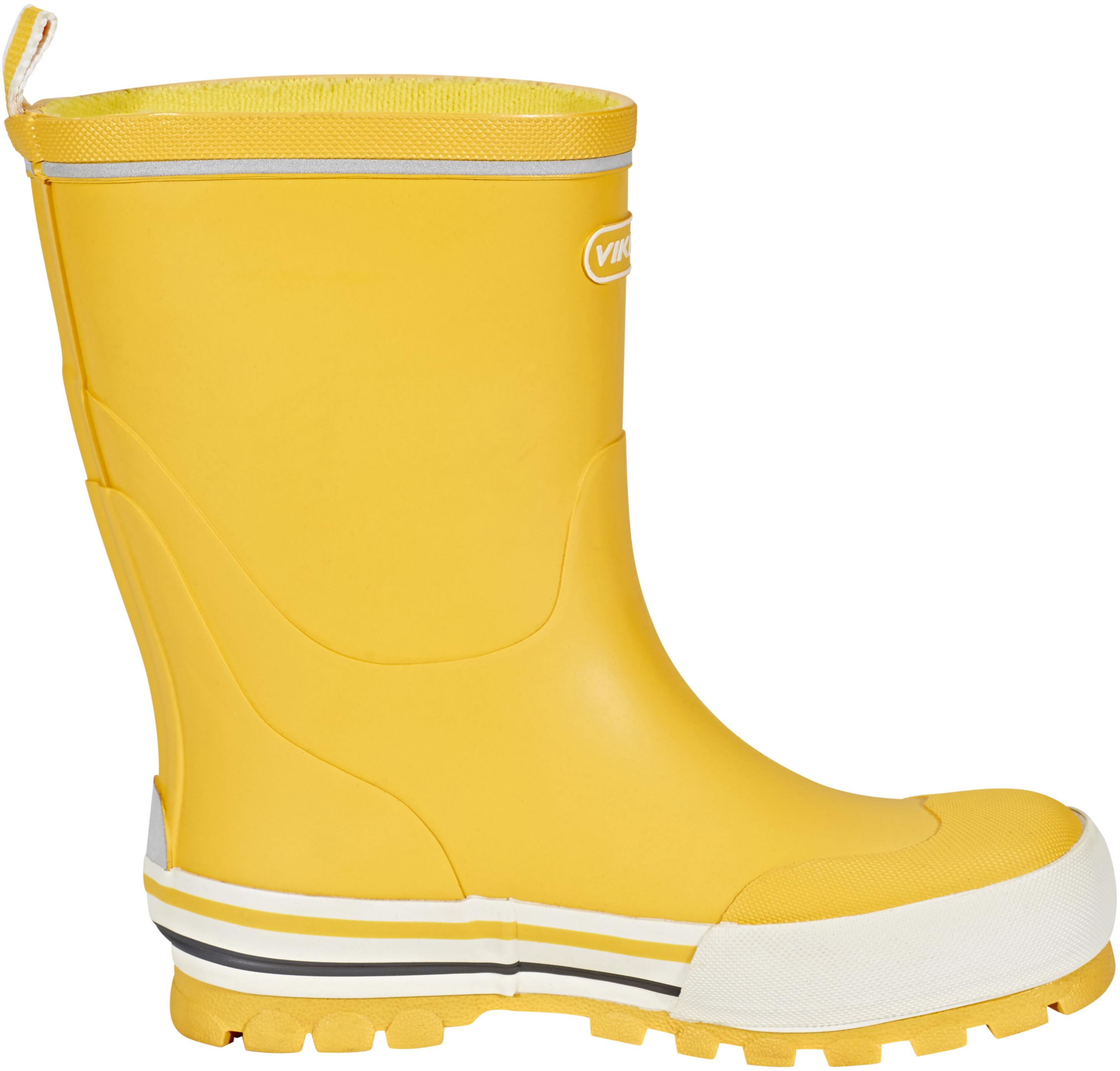 viking footwear jolly bottes en caoutchouc enfant jaune sur. Black Bedroom Furniture Sets. Home Design Ideas