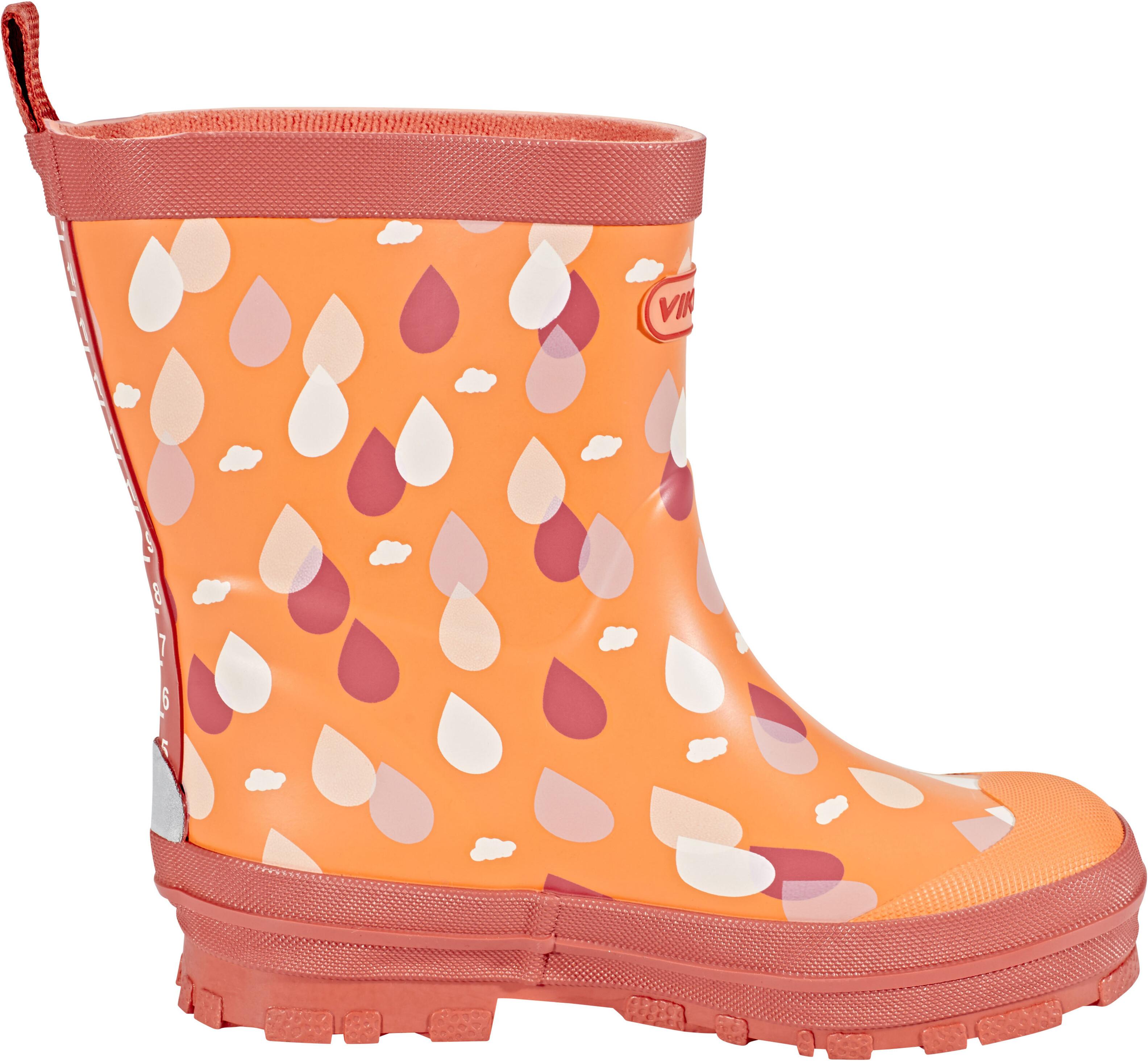 viking footwear dr pe bottes en caoutchouc enfant orange sur campz. Black Bedroom Furniture Sets. Home Design Ideas