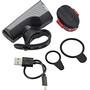 SIGMA SPORT Aura 40 Beleuchtungs Set USB/Nugget II