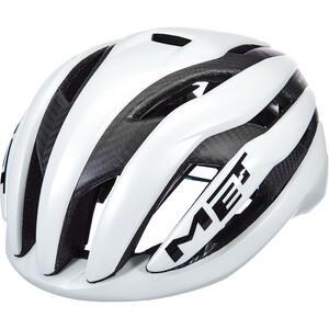 MET Trenta 3K Carbon Hjelm Hvit Hvit