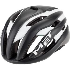 MET Trenta Helmet black/white black/white