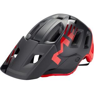MET Roam ヘルメット マット ブラック/レッド
