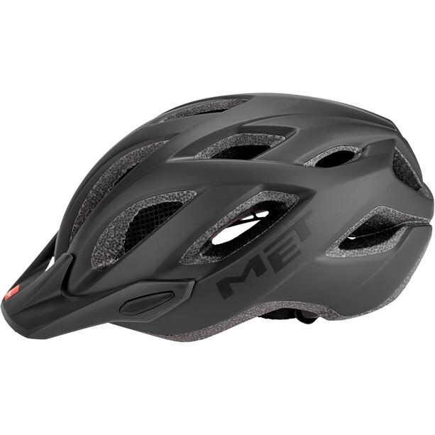 MET Crossover Helm schwarz