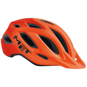 MET Crossover Helmet orange orange