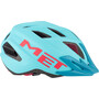 MET Crackerjack Helm Kinder light blue/magenta