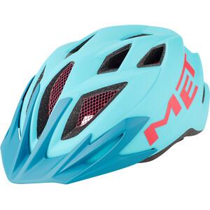 MET Crackerjack ヘルメット キッズ ライト ブルー/マゼンタ