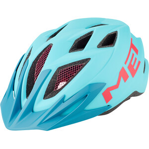 MET Crackerjack Helm Kinder light blue/magenta light blue/magenta