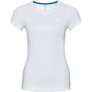 Odlo Active F-Dry Light SS Rundhalsshirt Damen white white
