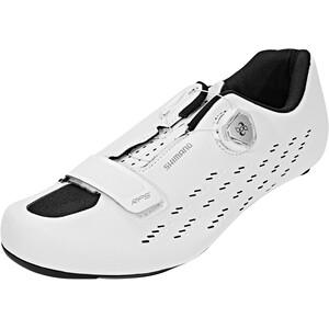 Shimano SH-RP5 Rennradschuhe white white