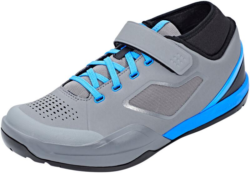 SH-AM7 Fahrradschuhe Unisex Grey Blue EU 46 2019 Flat Pedal Schuhe